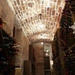 Wine Cellar at North Lake Custom Home