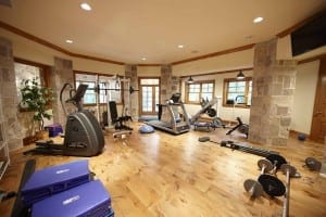 example of an exercise room - Home Gyms blog post