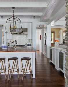 Kitchen Lighting in South Beach Custom Built Home