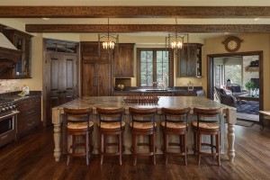 Kitchen Lighting in Blackhawk Custom Built Home