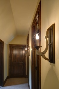 Detail Lighting in Blackhawk Custom Built Home
