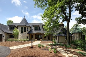 Landscaping a Wisconsin Custom Built Home
