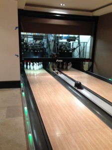 Behind the Scenes with Colby Construction: An in-home bowling alley