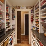 Kitchen pantry with the magnet wall