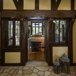 Custom home builder use of reclaimed materials.