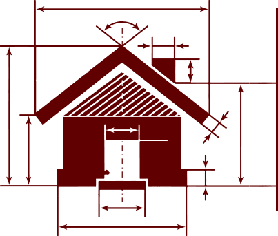 Colby Construction, one of Wisconsin's best Lake Country Builders. A Custom Home Builder's diagram for creating a custom lake home.