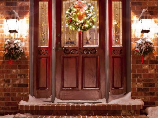 Colby Construction, Delafield Lake Home Builders, Christmas Wreath