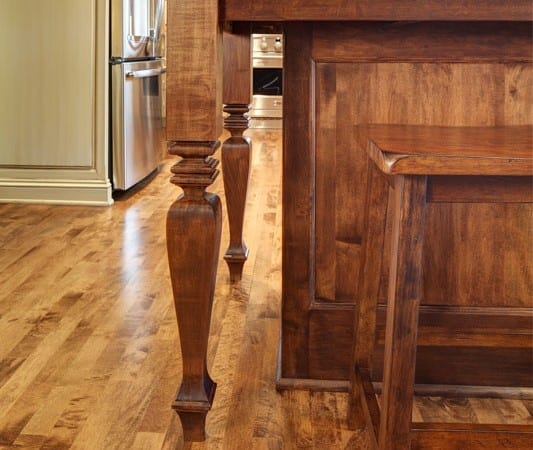 Colby Construction Kitchen Island