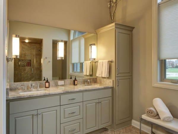 Colby Construction Master Bathroom Renovation Custom Lake Home Renovations