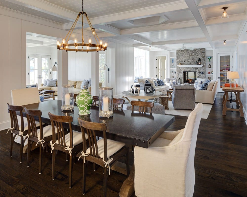Open Concept Living in a Custom Home - Colby Construction