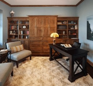 Shelving Solutions to Solve Storage and Display in Your Custom Built Home - Bonus Room